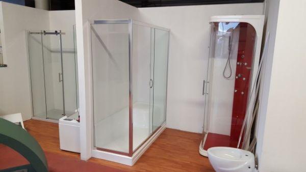 Box doccia per sostituzione vasca incluso di piatto doccia for Box doccia per vasca