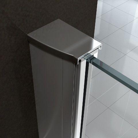 Box doccia cristallo 8 mm frameless due lati doppio for Tapparelle per cabina