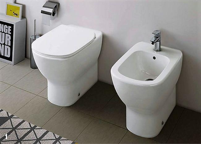 sanitari filomuro collezione nuova tesi ideal standard. Black Bedroom Furniture Sets. Home Design Ideas