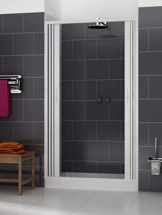 Box doccia venere 1 lato apertura centrale doppia anta misura 120 x h185 - Box doccia salvaspazio ...