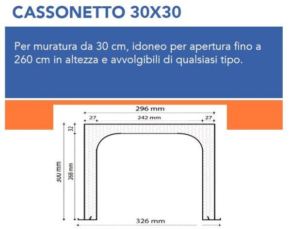 Cassonetto coibentato ispezione dal basso for Tapparelle per cabina