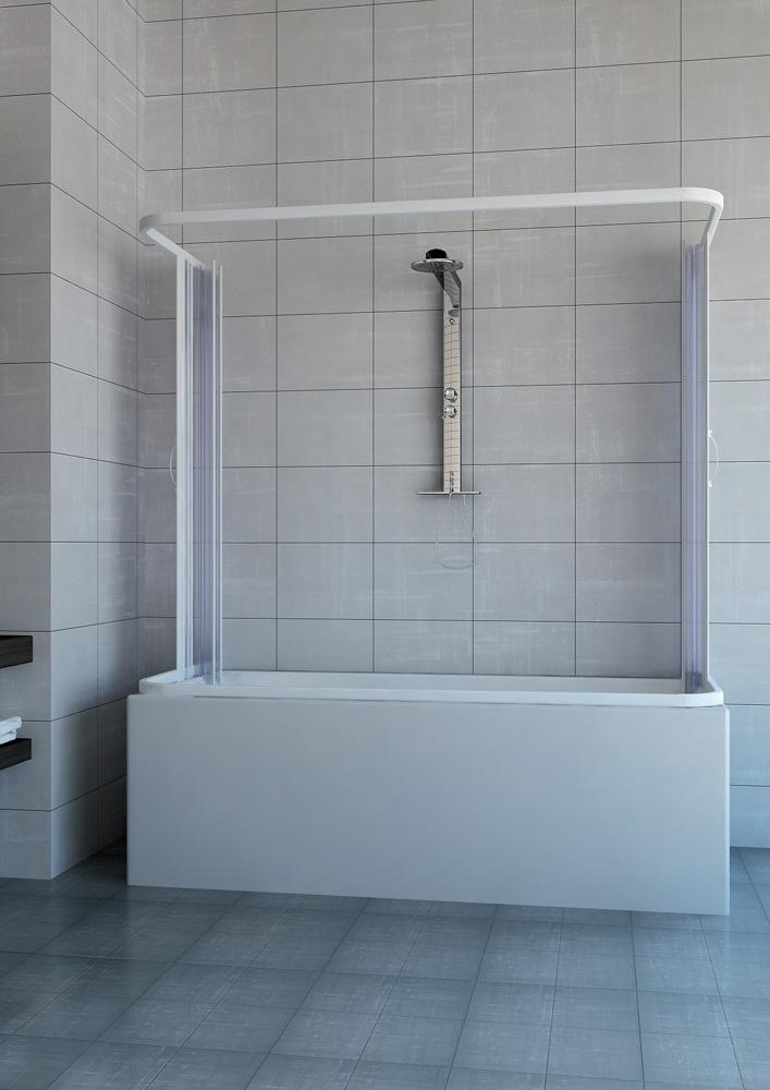 Box vasca galassia 2 lati apertura centrale angolo for Box doccia per vasca