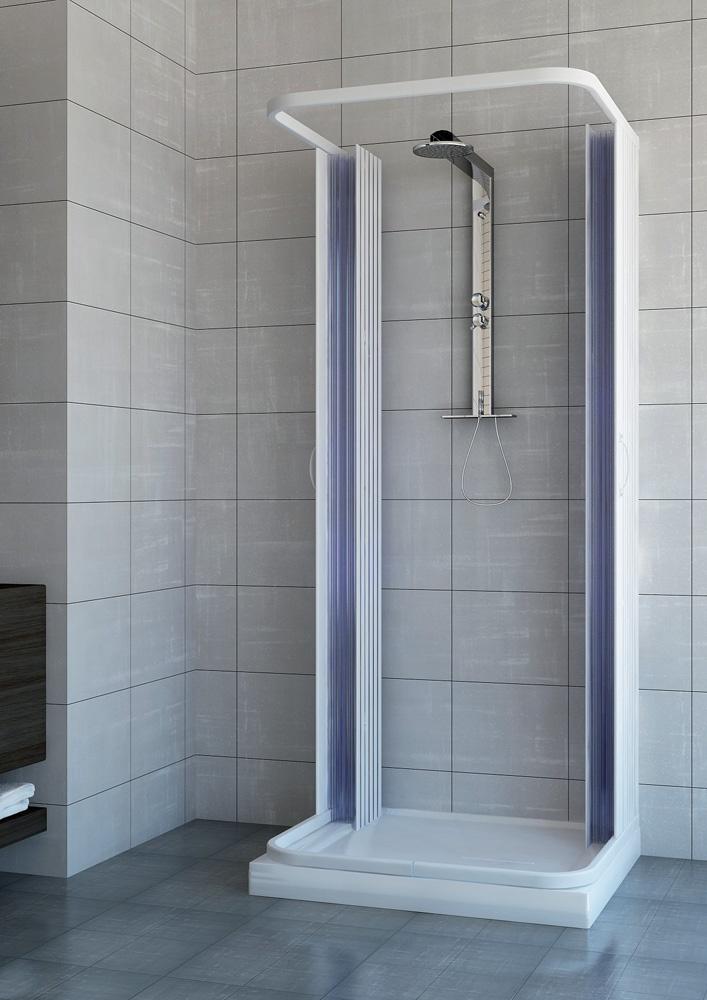 Box doccia venere 1 lato apertura laterale anta singola - Box doccia un anta ...