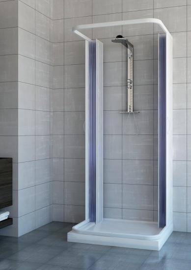 Foto 8 box doccia su misura a soffietto in pvc - Porta a soffietto per doccia ...