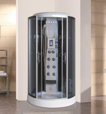 Box doccia 90x90 - Cabina doccia con sauna e bagno turco ...