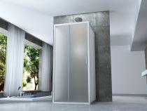 Cabine Doccia Cristallo : Box doccia cristallo mm rettangolare angolare trasparente cabina