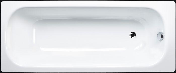 Vasca Da Bagno In Acciaio Smaltata Bianca Della Smavit Modello Cassia