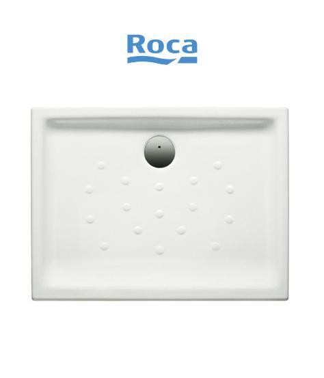 Piatto doccia in ceramica roca rettangolare for Ceramica roca
