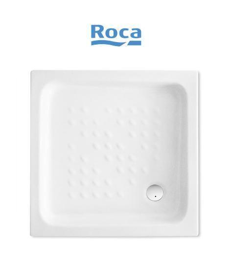 Piatto doccia in ceramica roca quadrato for Ceramica roca
