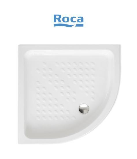 Piatto doccia in ceramica roca semicircolare non for Ceramica roca