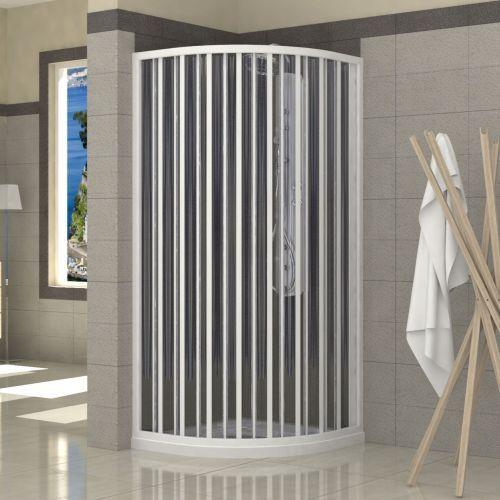 viertelkreis duschkabine sorrento 2seitig mit seiten ffnung und einzelner faltschiebet r. Black Bedroom Furniture Sets. Home Design Ideas