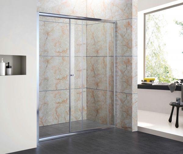 Box doccia in cristallo 6mm (trasparente) - 1 lato, apertura ...