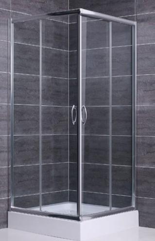 Box doccia cristallo 6 mm 2 lati apertura scorrevole trasparente - Box doccia in vetro prezzi ...