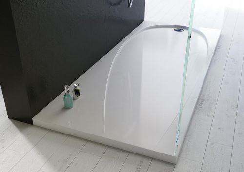 Piatto doccia ultraslim in acrilico alto 4cm bianco - Piatti doccia particolari ...