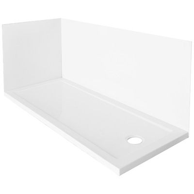 Piatto doccia in abs per sostituzione vasca con o senza pannelli muro - Sostituzione vasca in doccia ...