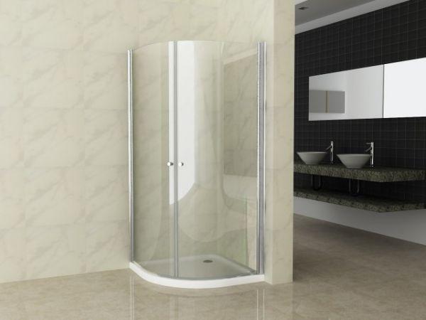 Box doccia cristallo mm lati fisso piu scorrevole