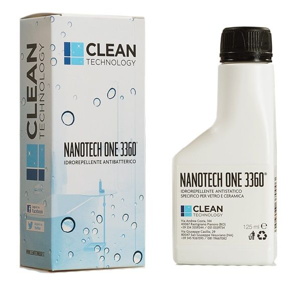 Trattamento anticalcare permanente per box doccia - Nanotech One 3360 (125 ml)