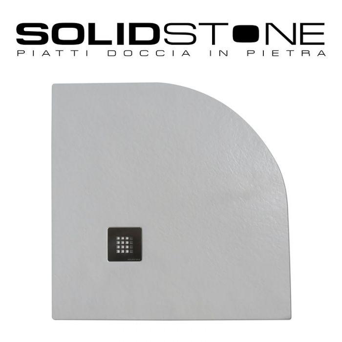 Piatto doccia semicircolare raggio 55 in pietra solidstone - Piatti doccia particolari ...