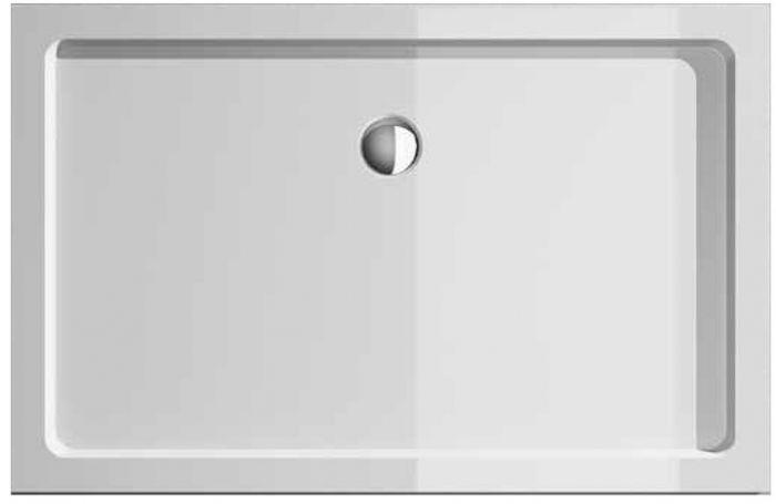 Piatto doccia treesse opera in acrilico alto 4cm bianco - Piatti doccia particolari ...