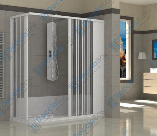 Trasformazione vasca in doccia sostituzione vasca - Sostituzione vasca bagno con doccia ...